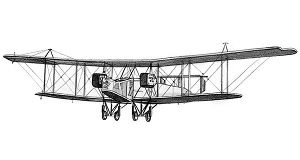 Handley Page Type O WW1 Bomber